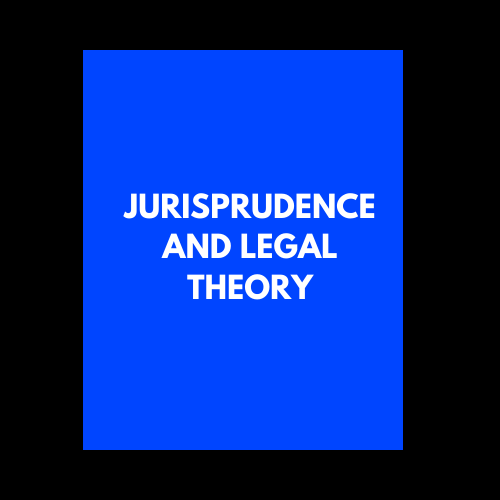 Jurisprudence and Legal Theory LA3005 Online Lectures
